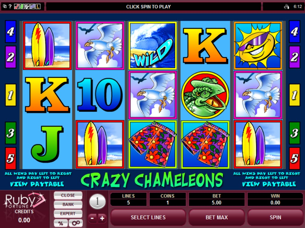 Ruby Fortune Casino Slots