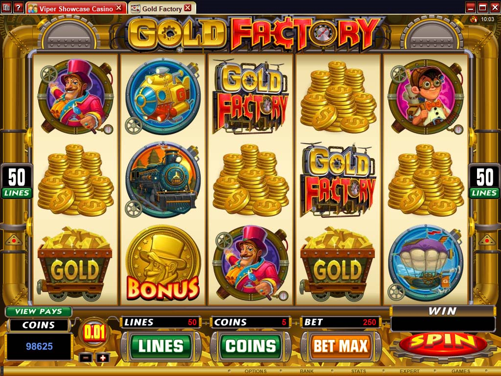 Free Casino Games Gold Factory
