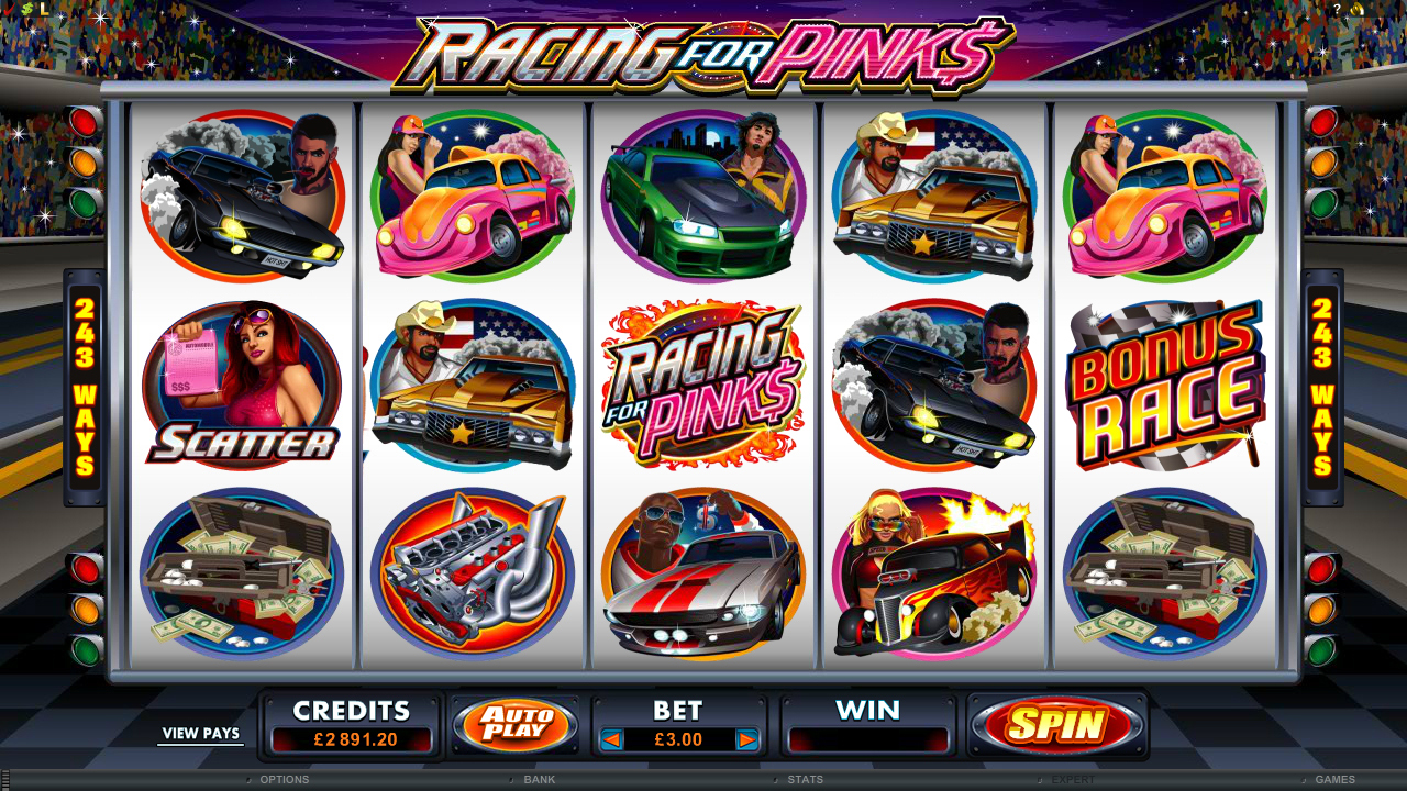 Racing For Pinks Slot Machine Online ᐈ Microgaming™ Casino Slots