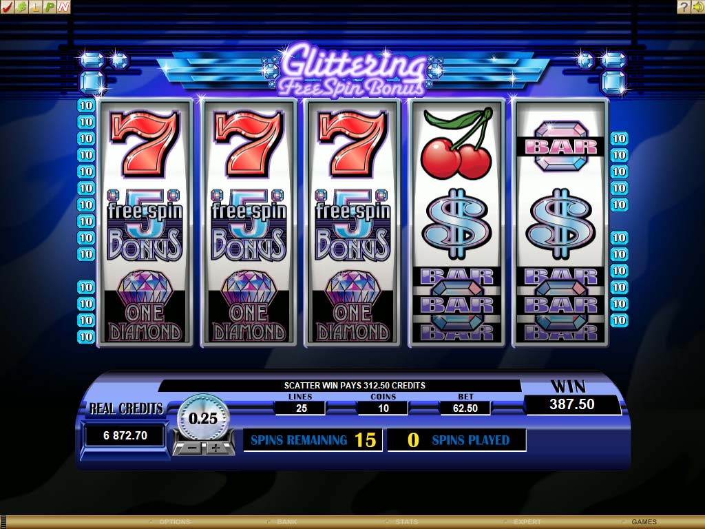 free spins casino slot machine