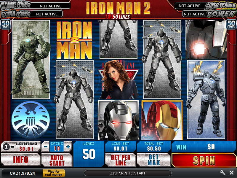 Iron man 2 slot review casinos in south carolina map